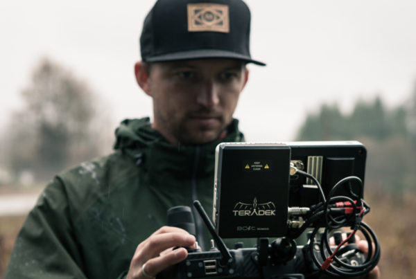 Cinematographer / DP / MoVI Operator - Sam Nuttmann - Seattle - Motion State operator Corey Koniniec using a Teradek Bolt Sidekick