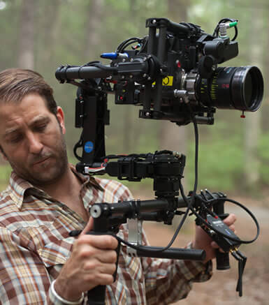 Cinematographer / DP Sam Nuttmann - Los Angeles - Remote Lens Control - Preston on MoVI