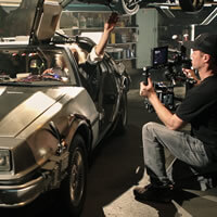 Cinematographer / DP Sam Nuttmann - Seattle - Blackmagic 4K camera - Back To The Future