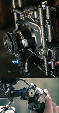 Cinematographer / DP Sam Nuttmann - Seattle - Blackmagic 4K camera - Redrock Micro finger wheel
