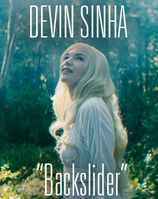 Cinematographer / DP Sam Nuttmann - Seattle - Devin Sinha - Backslider - music video - poster