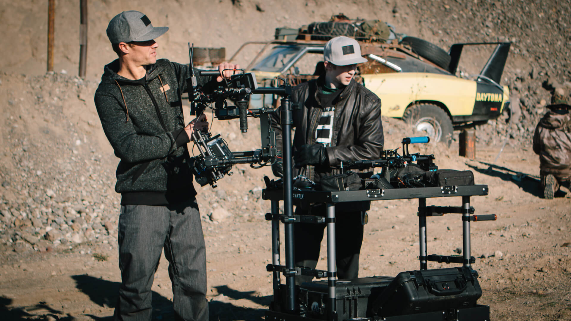 Cinematographer / DP Sam Nuttmann - Seattle - Wasteland Legends - Inovativ Camera Cart