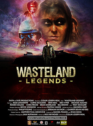 Cinematographer / DP Sam Nuttmann - Seattle - Wasteland Legends - movie poster
