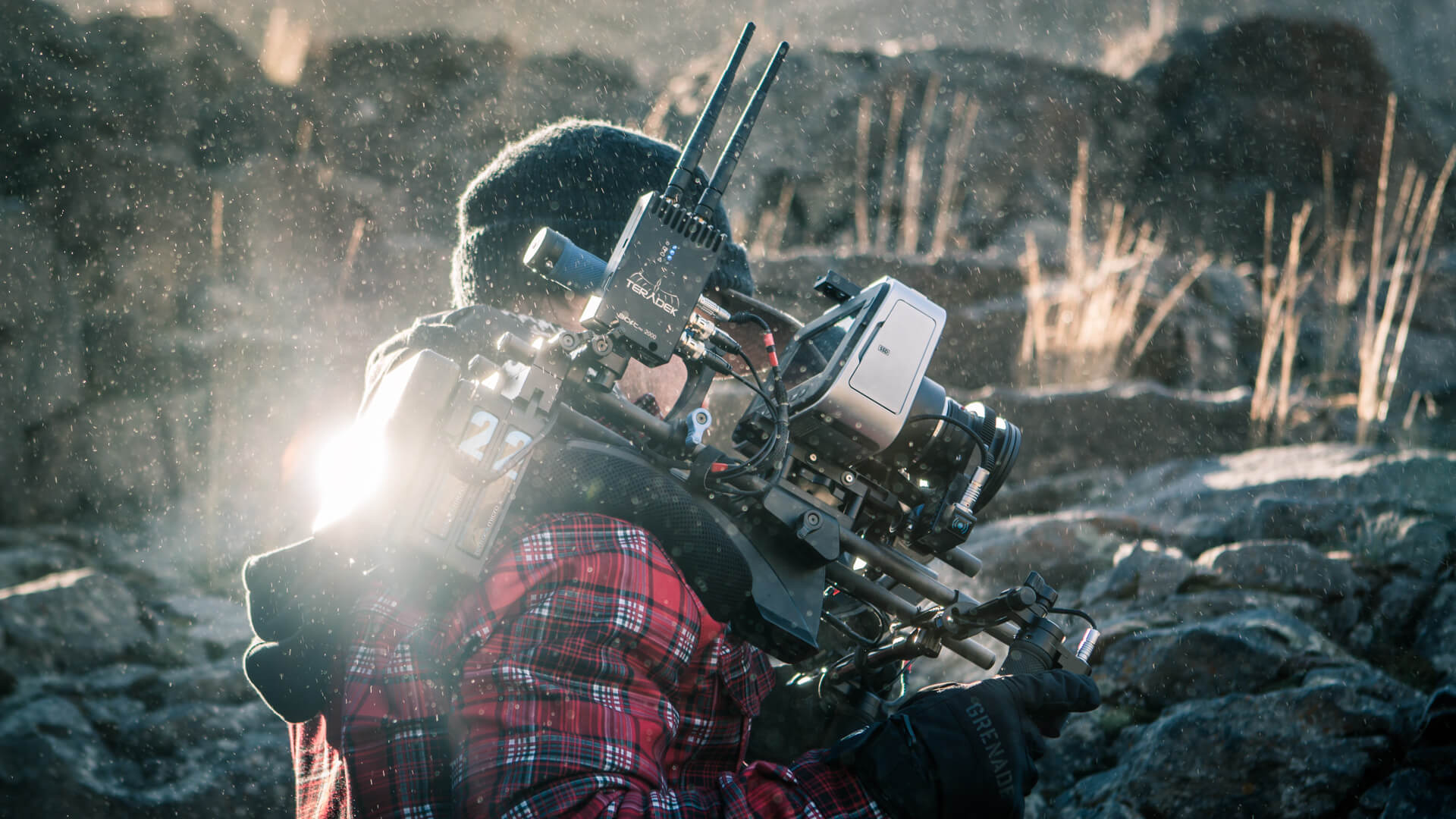 Cinematographer / DP Sam Nuttmann - Seattle - Wasteland Legends - Teradek Bolt wireless video