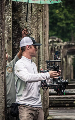 MoVI Operator Sam Nuttmann - Cambodia - BBC - television, tv - Wonders Of The Monsoon - finding simple solutions for challenging remote locations