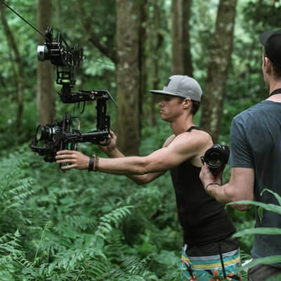 MoVI Operator Sam Nuttmann - Hawaii - Dactylcam Cable Cam - remote locations