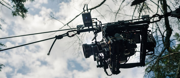 MoVI Operator Sam Nuttmann - Los Angeles, LA - Teradek on a cable cam system