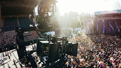 MoVI Operator Sam Nuttmann - Seattle - Dactylcam Cable Cam - Bumbershoot music festival