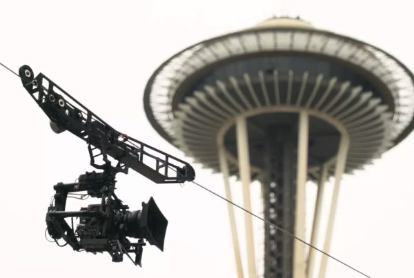 MoVI Operator Sam Nuttmann - Seattle - Dactylcam Cable Cam - filming at Bumbershoot 2016