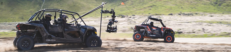 MoVI Operator Sam Nuttmann - Seattle - Motion State - Freefly MoVI XL promo - Black Arm Polaris RZR mount