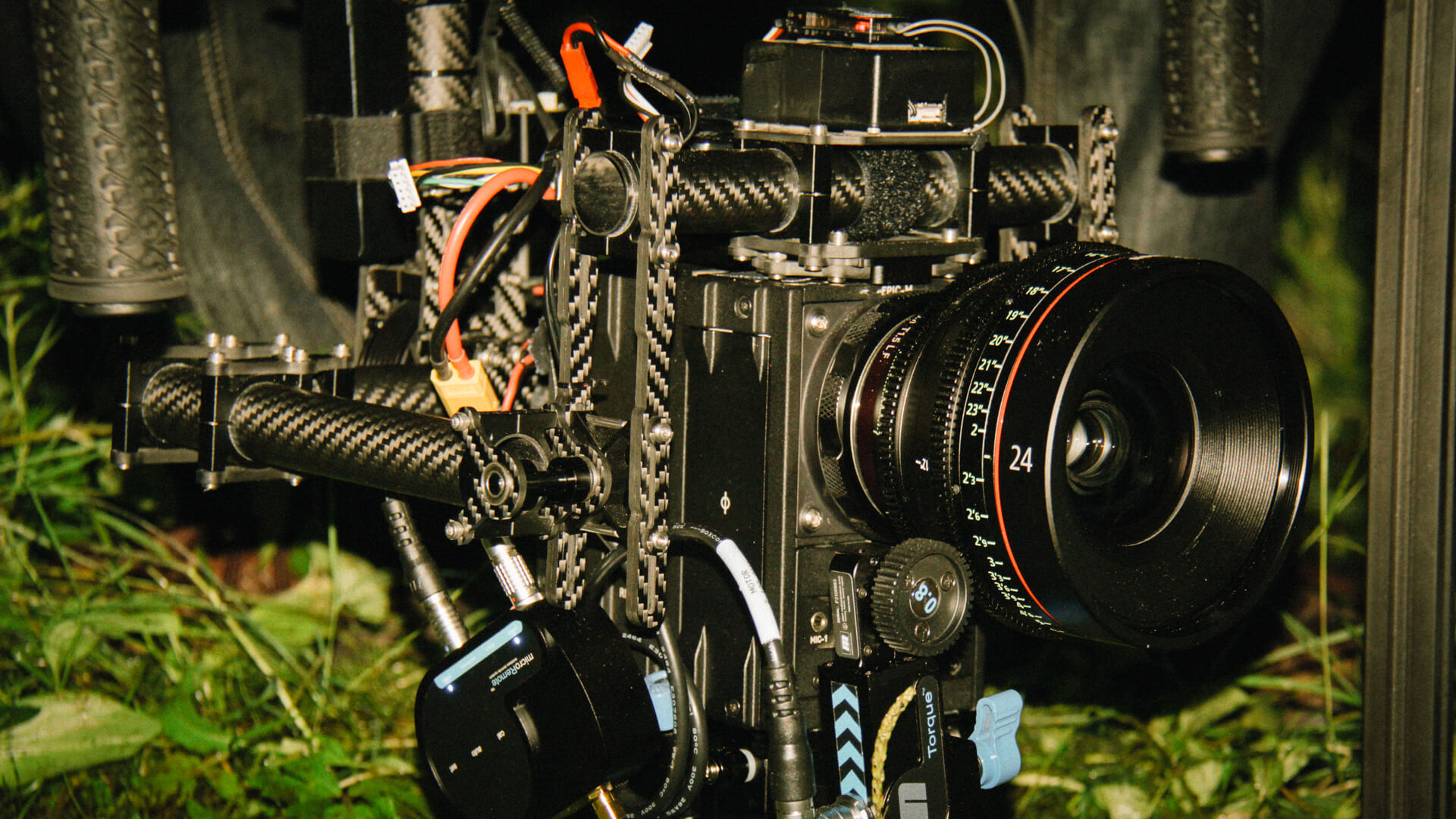 MoVI Operator Sam Nuttmann - Seattle - The Arborlight - prototype MoVI M10 on a short film