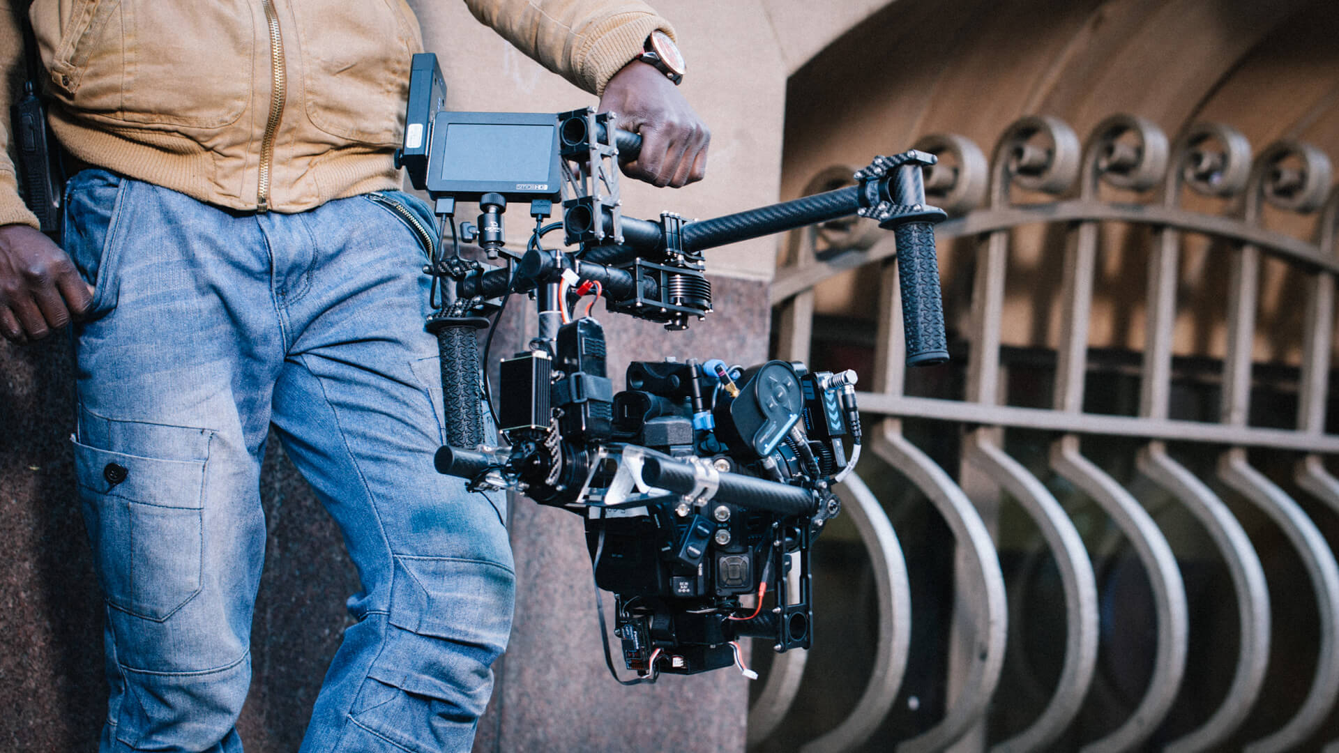 MoVI Operator Sam Nuttmann - South Africa - Allan Gray - Freefly MoVI M10 prototype