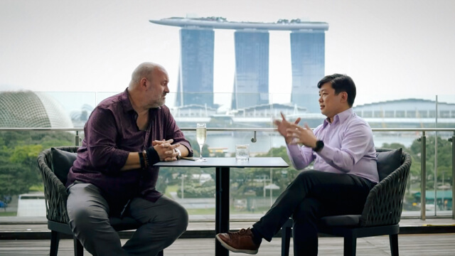 Travel Adventure Filmmaker / DP - Sam Nuttmann - Interviews - Master Shot - Singapore